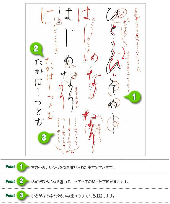 NHK学園の実力派講師陣が課題に朱筆を入れて、筆の動きを指導、他にアドバイスを書き添えてお返しします。