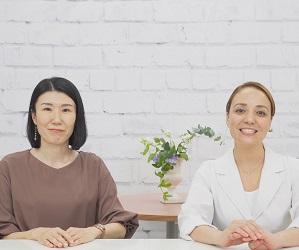 石原新菜先生(右)と岡田むつみ先生