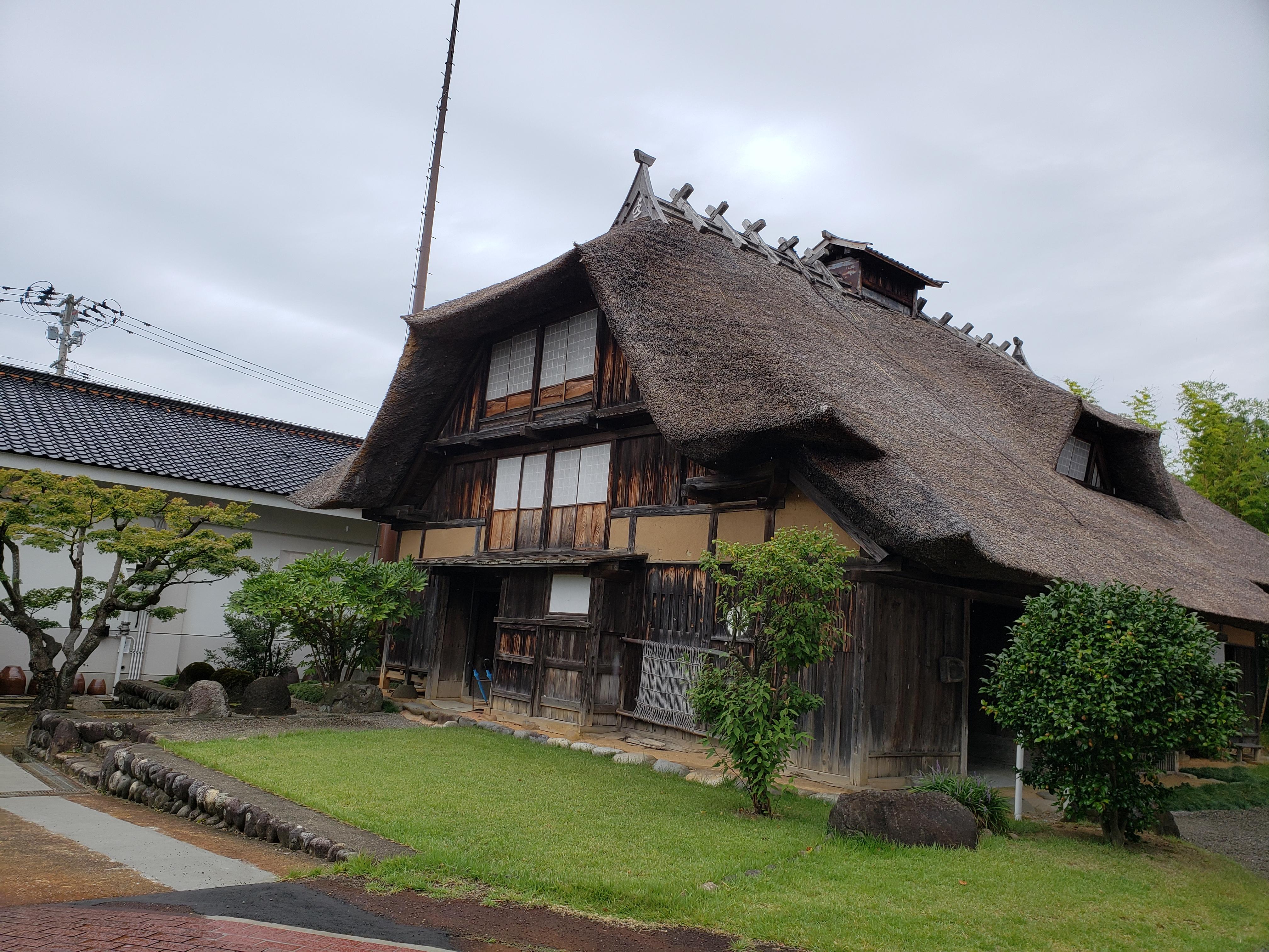 致道博物館にある当時の民家